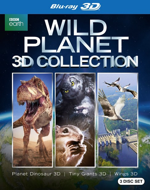 Wild planet 3d collection (Blu-ray) - image 1 of 1