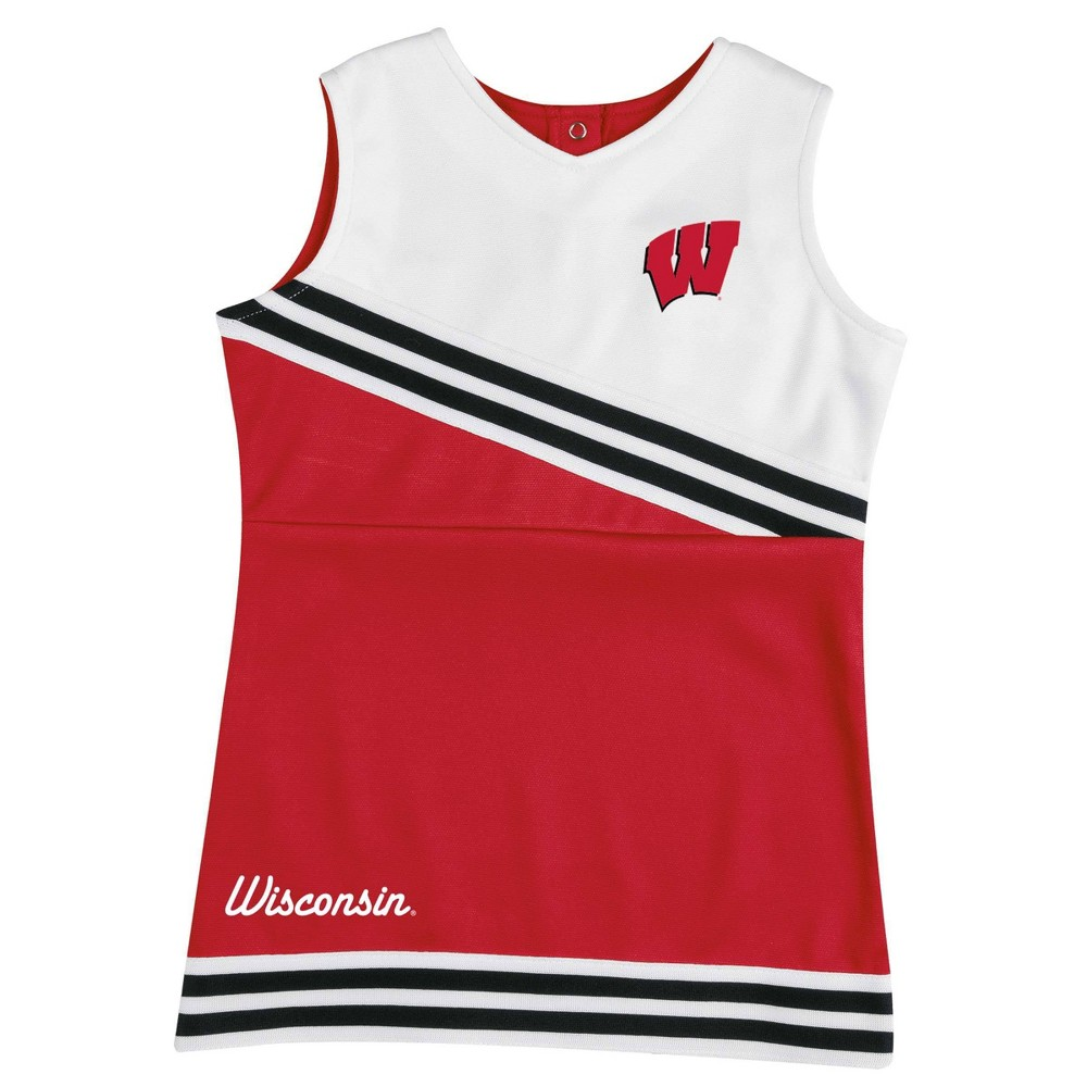 Best Discount NCAA Wisconsin Badgers Toddler Girls 2pc Cheer Set 12M Multicolored