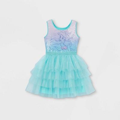 Girls' Disney Ariel Tutu Dress - Green
