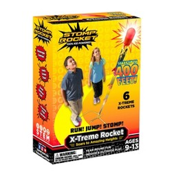 Stomp Rocket Extreme Super High Flying Rockets with Launch Pad