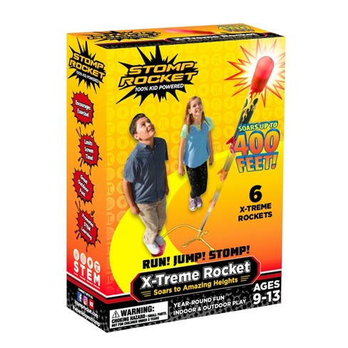 Stomp Rocket Extreme Super High Flying Rockets with Launch Pad - image 1 of 3