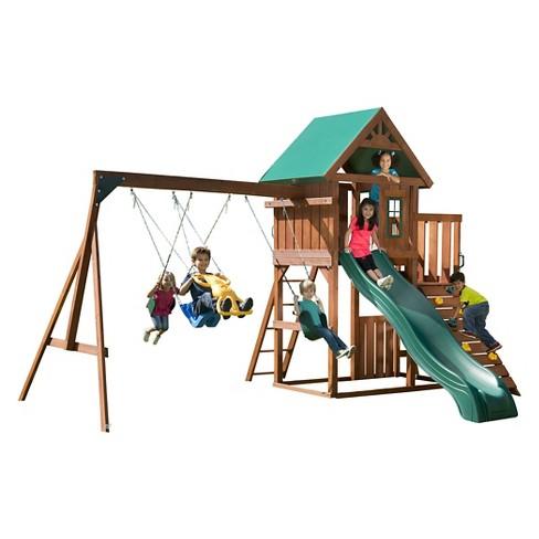 Swing N Slide Willows Peak Wooden Complete Play Set Target