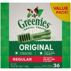 Greenies Regular Original Dental Dog Treats