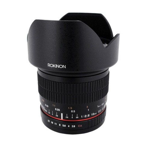 Rokinon 10mm f/2.8 ED AS NCS CS Lens for Canon EF Mount, Manual Focus - image 1 of 3