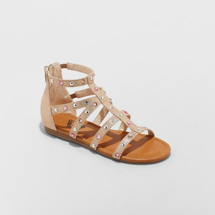 Girls' Fritzi Embellished Gladiator Sandals - art class™ - image 1 of 4