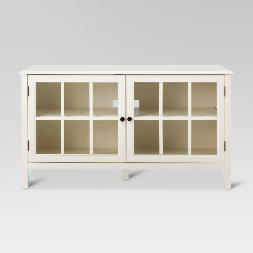 Windham TV Stand Shell White - Threshold was $249.99 now $124.99 (50.0% off)