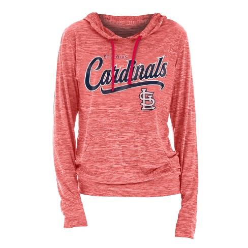 brand new 62f6d 77e27 MLB St. Louis Cardinals Women's Spacedye Lightweight Hoodie