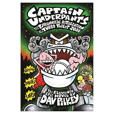 Captain Underpants and the Tyrannical Re ( Captain Underpants) (Hardcover) by Dav Pilkey