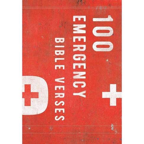 100 Emergency Verses - (Hardcover) - image 1 of 1