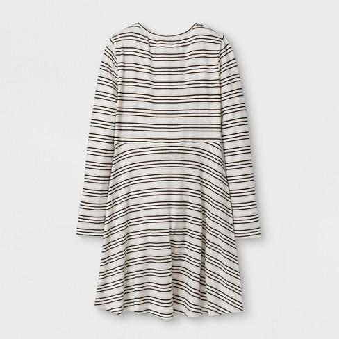 Girls Rib Knit Dress Art Class Target