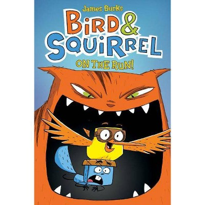 Bird & Squirrel on the Run - by  James Burks (Paperback)