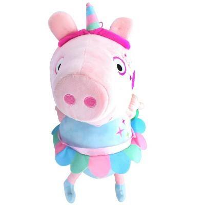 Fiesta Peppa Pig Unicorn 17 Inch Character Plush
