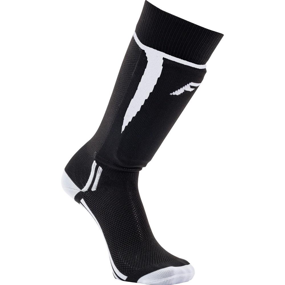Franklin Sports Sock R Shinguards - XS - Black