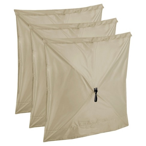 Quick-Set Screen Hub Tan Fabric Wind and Sun Panels Accessory Only, (3 pack) - image 1 of 4