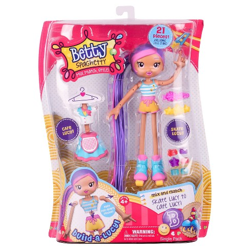 Betty Spaghetty Doll - Skater Café Lucy - image 1 of 5