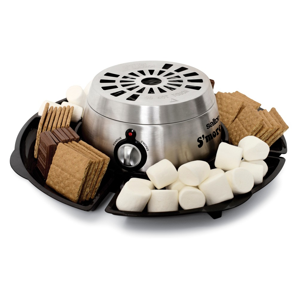 Image of Salton Electric S'mores & Fondue Maker - Black