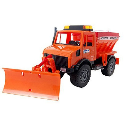 Bruder Mercedes Benz MB-Unimog Fully-Functional Winter Service Snow Plow