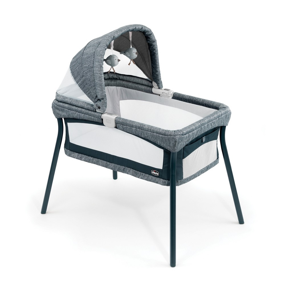 Image of Chicco Lullago Nest Portable Bassinet - Indigo, Blue