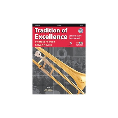 KJOS Tradition Of Excellence Book 1 for Trombone - image 1 of 2