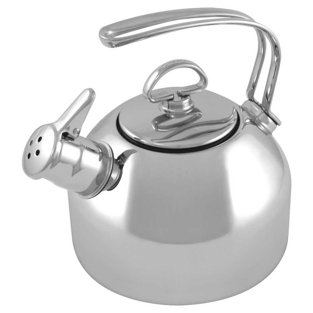 Image of Chantal 1.8qt Classic Tea Kettle - Stainless Steel, Silver