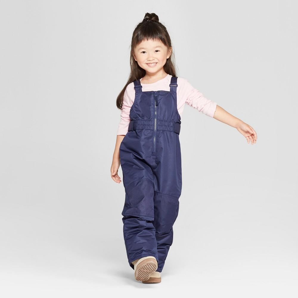 Toddler Girls' Snow Pants - Cat & Jack Navy 6, Blue