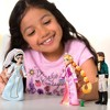 Disney Tangled The Series Rapunzel, Cassandra and Eugene (Flynn) Exclusive 5-Inch Mini Doll 3-Pack Set - image 3 of 3