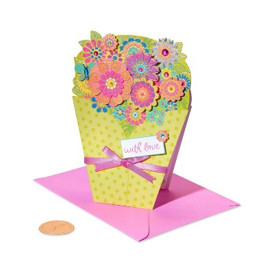 Mothers Day Card Floral Bouquet Love - PAPYRUS