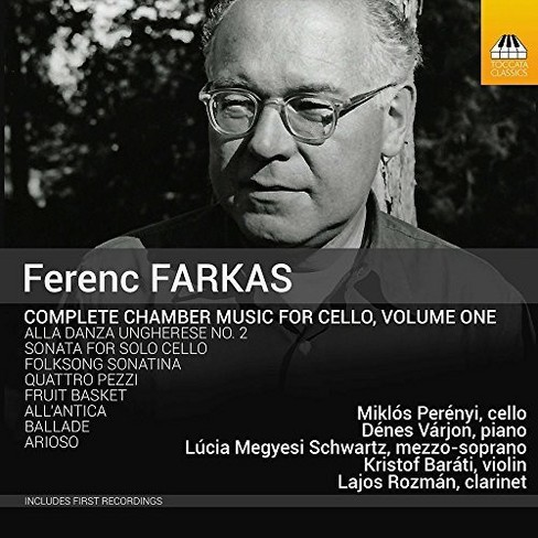 Miklos Perenyi - Farkas:Chamber Music For Cello Vol 1 (CD) - image 1 of 1
