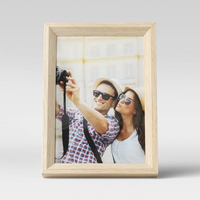 """5"""" x 7"""" Wedge Picture Frame Natural - Room Essentials™"""