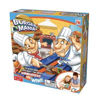 Burger Mania Game