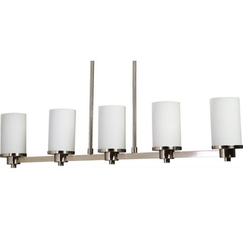 Artcraft Lighting AC1315 Parkdale Single-Tier Linear Chandelier with 5 Lights - image 1 of 4
