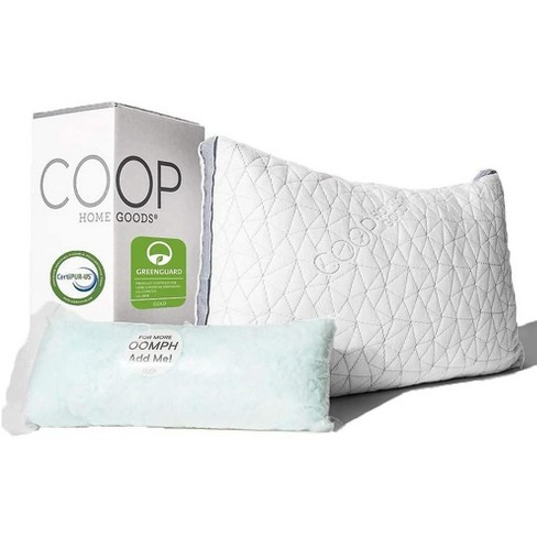 Coop Home Goods The Eden - Adjustable Memory Foam Pillow for Cool Sleepers - image 1 of 4