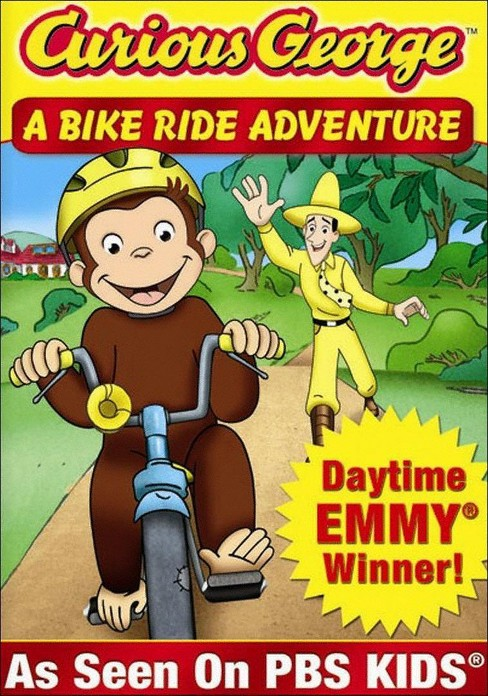 Curious George: A Bike Ride Adventure (dvd_video) - image 1 of 1