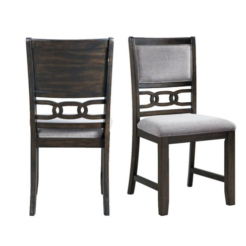 Set Of 2 Taylor Standard Height Side Chair Set Walnut Picket House Furnishings Target
