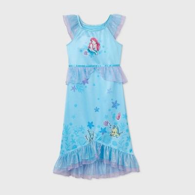 Girls' The Little Mermaid Nightgown - Blue