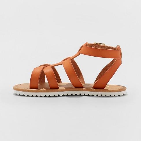 e8f15e26f63d Girls  Mya Gladiator Sandals - Cat   Jack™   Target