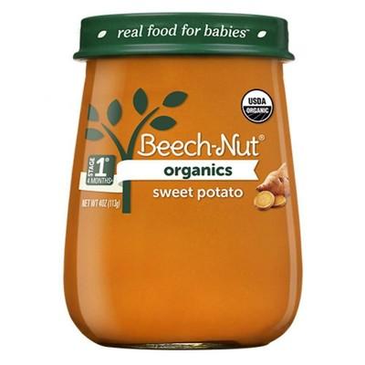 Beech-Nut Organics Sweet Potatoes Baby Food Jar - 4oz