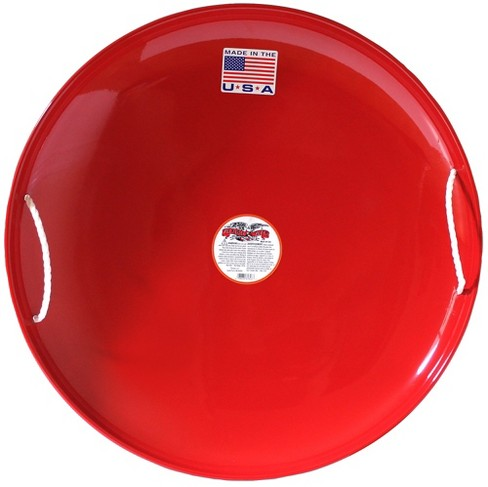 Flexible Flyer Steel Saucer Sled - Red - image 1 of 5