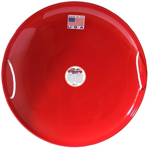 Flexible Flyer Steel Saucer Sled - Red - image 1 of 4