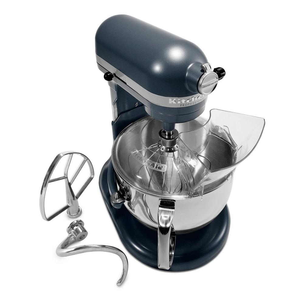 KitchenAid Refurbished Professional 600 Series 6qt Bowl-Lift Stand Mixer Steel Blue - RKP26M1XBS, Silver Blue