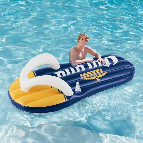 Corona Beer Inflatable Flip Flop Swimming Pool Floats With Cupholders (2  Pack)