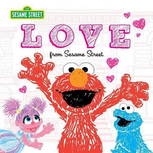 Love - (Sesame Street Scribbles) (Hardcover) - image 1 of 1