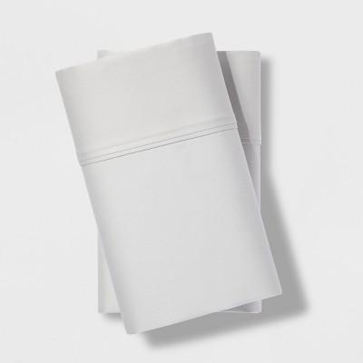 Standard 500 Thread Count Tri-Ease Pillowcase Set Silver Springs - Project 62™ + Nate Berkus™