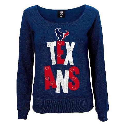 246c8de5 Houston Texans Girls Open Neck Fleece L