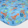 Miles from Tomorrowland Green & Blue Bedding Set (Toddler) 4pc - image 4 of 4