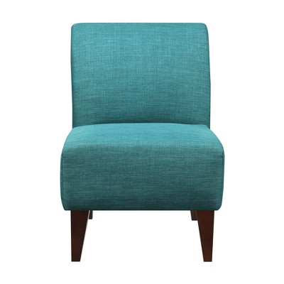 North Accent Slipper Chair Teal Blue - Picket House Furnishings