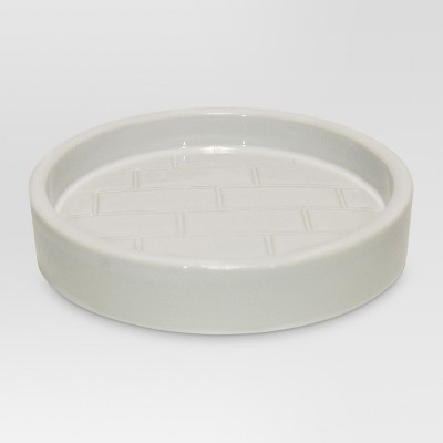 Tile Soap Dish White - Threshold™