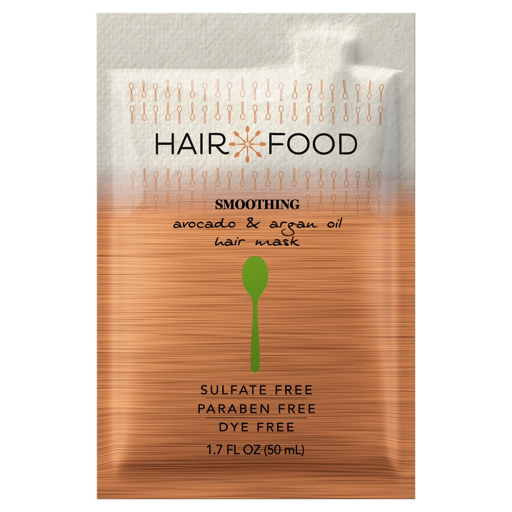 Image of Hair Food Avocado & Argan Oil Smooth Hair Mask - 1.7 fl oz