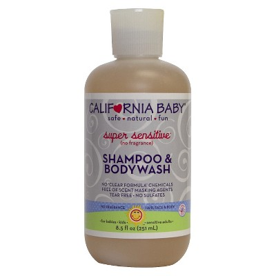 California Baby Super Sensitive Shampoo & Bodywash - 8.5 oz.