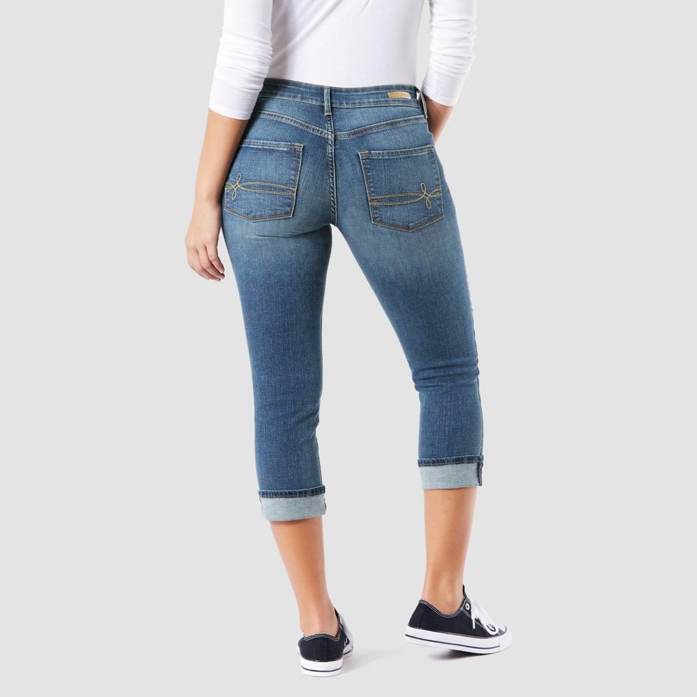 Denizen from Levi's Women's Mid-Rise Modern Skinny Crop Jeans - Medium Wash 14